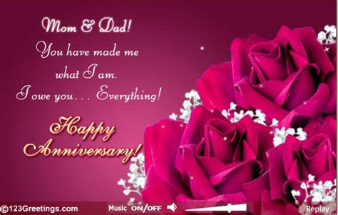 mom dad happy anniversary pictures   images  facebook tumblr pinterest