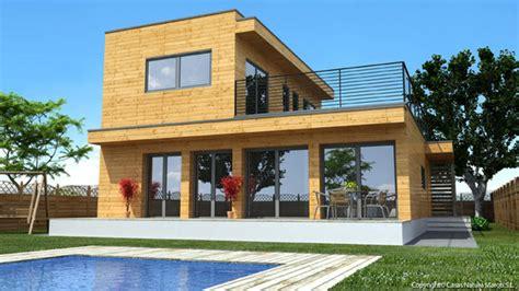 maison en bois natura rosso 150 maisons pr 233 fabriqu 233 es