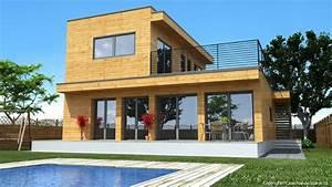 Maison Préfabriquée En Bois : maison en bois natura rosso 150 maisons pr fabriqu es ~ Premium-room.com Idées de Décoration