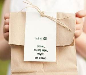 what to include in a child39s wedding activity pack With wedding goodie bag ideas