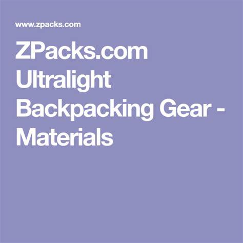 zpacks gear pollo backpacking ultralight straccetti giallozafferano articolo