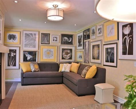 Gray And Yellow Living Rooms Talentneedscom