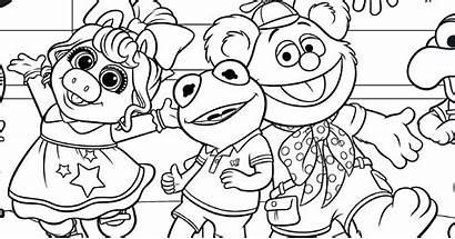 Muppet Coloring Babies Disney Activity