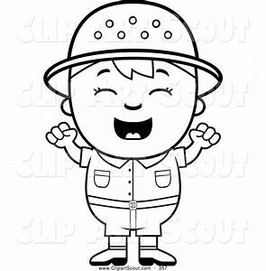Happy Boy Black And White Clipart - Clipart Suggest