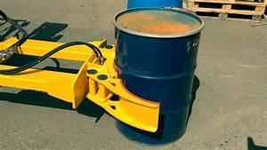Forklift Hydraulic Drum Handler
