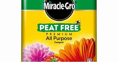 Peat Compost Miracle Gro Purpose Premium Litres