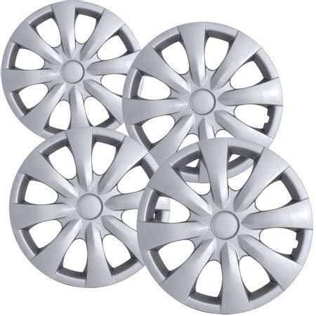 15 quot inch silver wheel covers for 2003 2014 toyota corolla