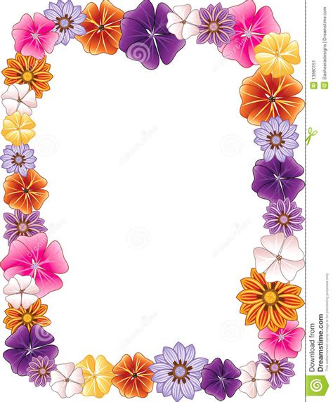 Border Images Flower Border Image Clipart Collection