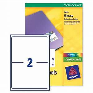 avery l7768 colour laser labels 1996x1435mm 2 per page With avery labels 2 per page