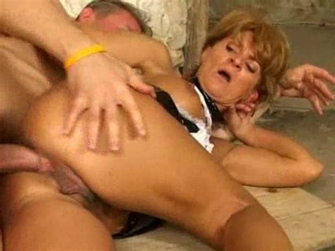 Naughty Mature French Maid Fucked In Ass Mature Porn