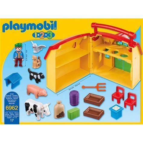 ferme transportable playmobil ferme transportable avec animaux playmobil 6962 224 31 99 sur p