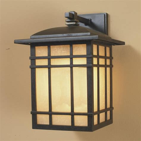 energy bronze craftsman mission outdoor light