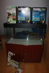 Aquarium 120l Mit Unterschrank : aquarium 120l kleinanzeigen kaufen verkaufen bei deinetierwelt ~ Frokenaadalensverden.com Haus und Dekorationen