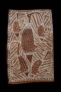 Bark Painting  Elcho Island  U0026quot  Birds  U0026quot  Circa 1970