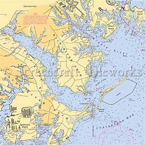 Maryland - Back River Neck, Middle River / Nautical Chart