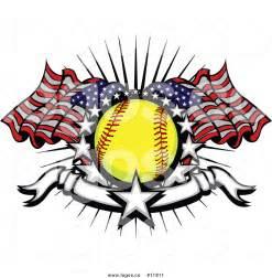 Baseball Softball Logo Clip Art