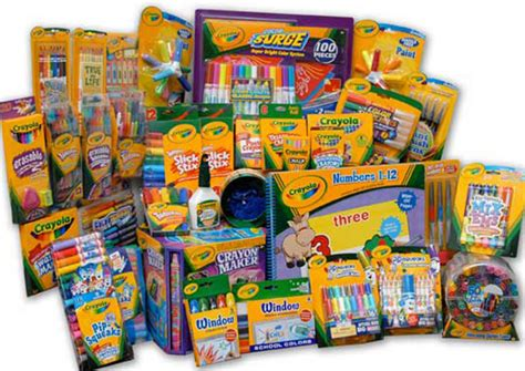 Save  Off A  Crayola Products Purchase At Staples