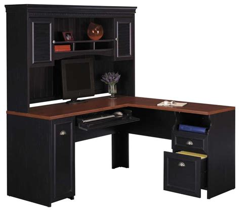 Bush Cabot L Shaped Desk by Best Bush Cabot L Shaped Desk All About House Design