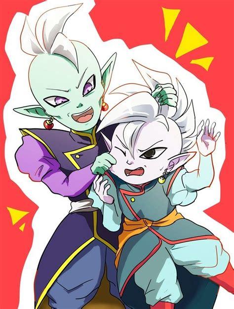 Supreme Kai Shin And Supreme Kai Roh Anime Dragon Ball