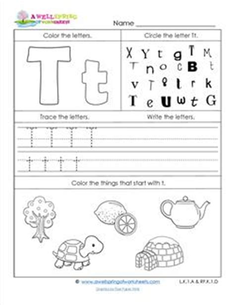 abc worksheets letter t alphabet worksheets a wellspring abc worksheets letter t alphabet worksheets a wellspring 30129