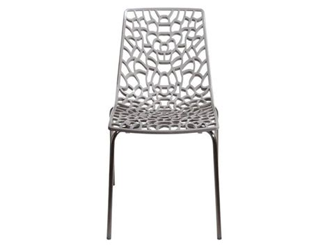 chaise transparente alinea chaise groove 2 coloris gris vente de chaise de cuisine
