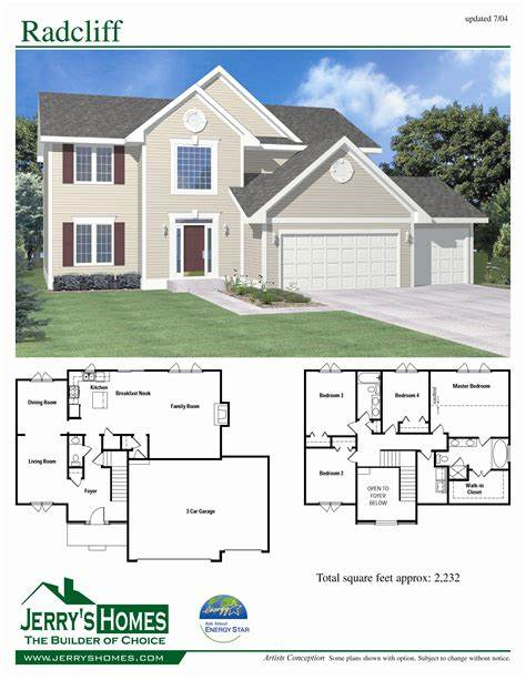 2 story 4 bedroom house plans Google Search Brick