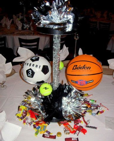 sports centerpieces for tables 79 best images about sports banquet on pinterest
