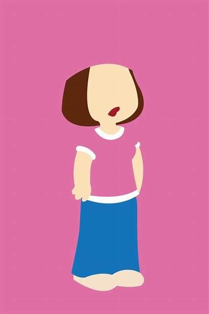 Meg Griffin Guy Society6 Lois Clip Cartoon
