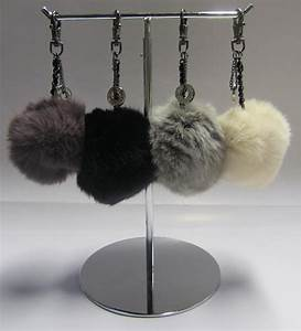 Porte Clef Fourrure : bijoux de sacs porte clef pompon fourrure ~ Teatrodelosmanantiales.com Idées de Décoration