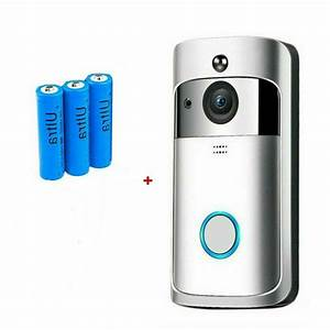 Home Smart Wireless Door Bell Wifi Doorbell Remote