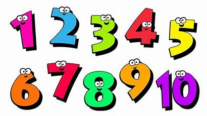 Numbers Transparent Clipart Number Background Counting Children
