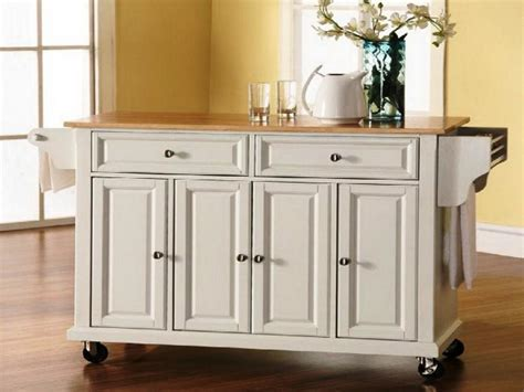 Ideas For Build Rolling Kitchen Island  Art Decor Homes