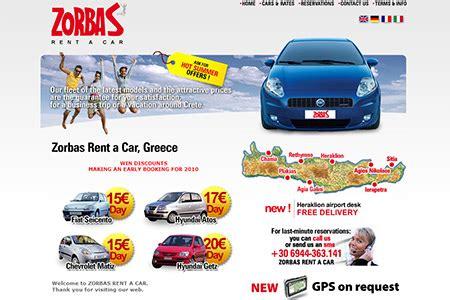 Car Rental Crete Heraklion by Zorbas Rent A Car In Amoudara Heraklion Crete