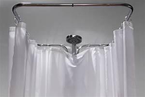 Duschvorhang Halterung Badewanne : clevershower duschvorhang halterung ~ Orissabook.com Haus und Dekorationen