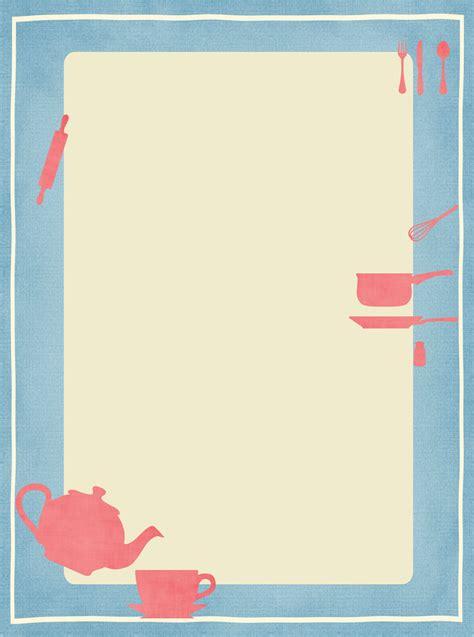 Kitchen Notes by Free Printable Kitchen Stationery Ausdruckbares