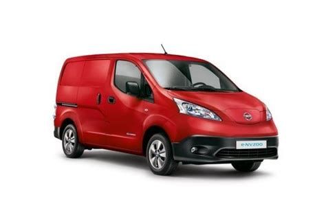Best Electric Vans 2016 by The Nissan E Nv200 Made In Spain The Best Selling