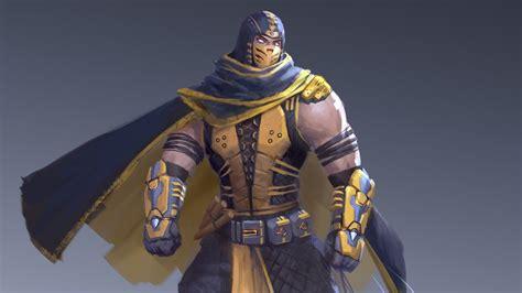 Scorpion Mortal Kombat Character Design Time Lapse Youtube