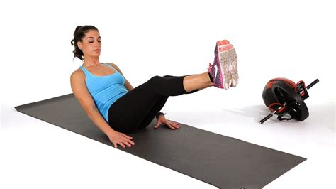 The Boat Exercise by How To Do The Boat Pose Abs Workout