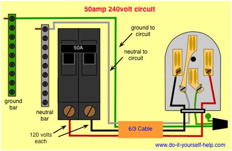 circuit breaker wiring diagrams do it yourself help electric house project