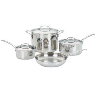 Cuisinart Chefs Classic™ 7 Pc Stainless Steel Cookware Set