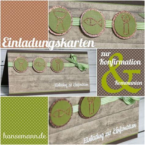 Einladungskarten Zur Konfirmation  Kommunion Ideen