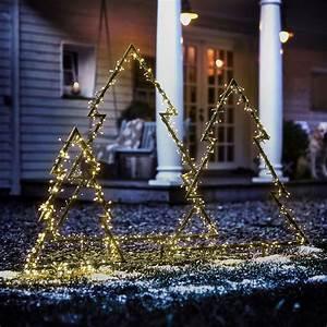 Garten Weihnachtlich Dekorieren : leucht tannenbaum weihnachtliche led dekoration f r den ~ Michelbontemps.com Haus und Dekorationen