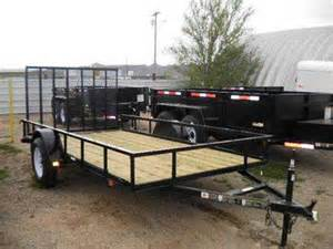 Used Flatbed Utility Trailers for Sale