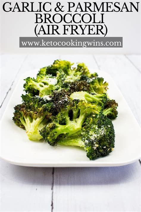 broccoli fryer air recipes keto ketocookingwins garlic