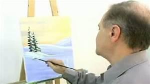 comment peindre une scene d39hiver dessin art musique With comment peindre a l huile