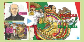 Mexican Independence Day PowerPoint (teacher made)
