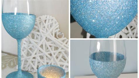 sparkling wine glasses diy crafts