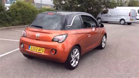 vauxhall orange vauxhall adam slam orange 2013 youtube