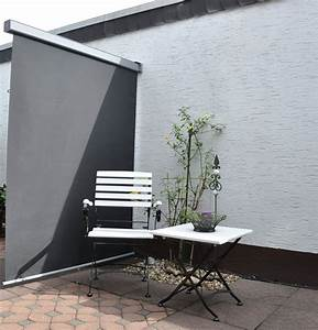 Sonnenrollo Für Terrasse : sichtschutzzaun windschutz f r balkon und terrasse bei ~ Frokenaadalensverden.com Haus und Dekorationen