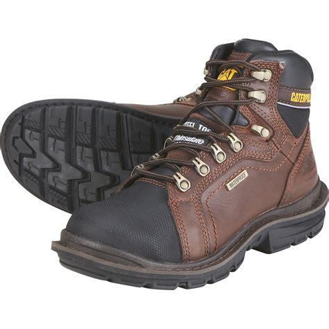 cat work boots cat 6in steel toe insulated waterproof eh work boot